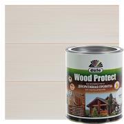 Антисептик для дерева Wood Protect цвет белый 0.75 л