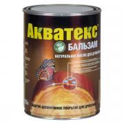 Защитно-декоративное покрытие АКВАТЕКС БАЛЬЗАМ