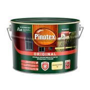 Pinotex Original, кроющая противогрибковая пропитка для защиты древесины с воском,база BW,9 л