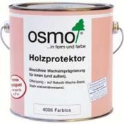 Водоотталкивающая пропитка для древесины Osmo (Осмо) Holzprotektor 4006 бесцветная 2,5 л (на 21 кв.м)
