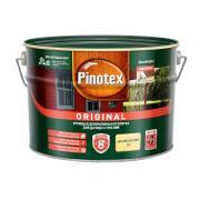 Pinotex Original, кроющая противогрибковая пропитка для защиты древесины с воском,база BС,8,4 л