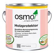 """Пропитка для древесины с водоотталкивающим эффектом """"Holzprotektor"""" 4006 OSMO объем 2,5л л."""