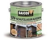 Saicos (Сайкос) Защитная лазурь от УФ-лучей для наружных и внутренних работ UV-schutzlazur aussen - 1181 Орех, 0.125 л, Производитель: SAICOS