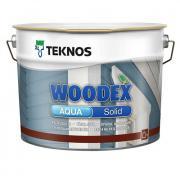 Антисептик Teknos Woodex Aqua Solid кроющий РМ3 0,9л