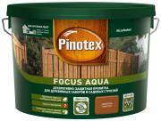 PINOTEX FOCUS AQUA пропитка для защиты деревянных заборов и садовых строений, золотая осень (9л)