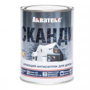 Кроющий антисептик для древесины АКВАТЕКС СКАНДИ