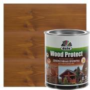 Антисептик для дерева Wood Protect цвет орех 0.75 л
