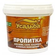Пропитка для бань и саун с антисептиком, 1 кг