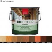 Неомид Bio Color Classic защитная декоративная пропитка для древесины (0.9 л, Бесцветный)