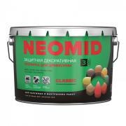 Защитная декоративная пропитка для древесины NEOMID BIO COLOR CLASSIC (9 л)