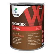 Антисептик для дерева Teknos Woodex Classic 0,9л , Белый