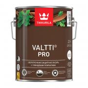 Tikkurila Valtti Pro,Сверхпрочная защитная глянцевая лазурь,Тик,2,7л