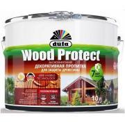 Декоративная пропитка для древесины Dufa Wood Protect / Дюфа Вуд Протект