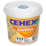Сенеж Сауна антисептик для бань и саун 0,9 кг