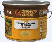 Пропитка для дерева Drewnochron Bariera Plus 5,0 л цвет красный махагон