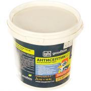 Бесцветный сухой концентрированный антисептик для внутренних работ goodhim v250 dry 0,7 кг 58599