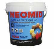 Защитная декоративная пропитка для древесины Neomid / Неомид (2,3 л) клен