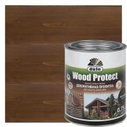 Антисептик для дерева Wood Protect цвет палисандр 0.75 л