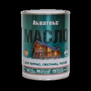 Защитно-декоративный состав АКВАТЕКС Масло для террас