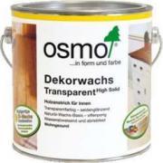 Масло для древесины Osmo (Осмо) Dekorwachs Transparent 3166 Орех 0,125 л (на 3 кв.м в 1 слой)