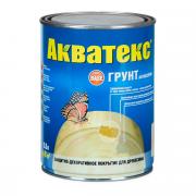 Защитный состав для древесины АКВАТЕКС Грунт-антисептик