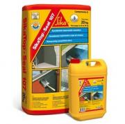 SikaTop® Seal-107 - Двухкомпонентная полимерно-модифицированная гидроизоляционная смесь, состоящая из жидкого полимера и сухой смеси на основе цемента со специальными добавками.