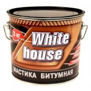 Мастика битумная WHITE HOUSE 3 кг (Черный)