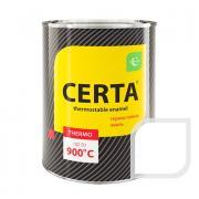 Эмаль термостойкая CERTA до 400С 0,8кг Белая