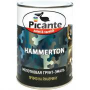 Молотковая эмаль picante hammerton 7013 серая 0,75кг 10420-7013.bb