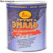 Новбытхим грунт-эмаль по ржавчине 3 в 1 коричневая (20л)