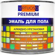 Алкидно-уретановая эмаль для пола virtuoso premium зеленая 1,9кг 11595980