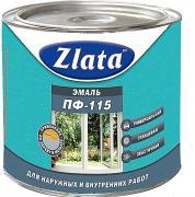 Эмаль Zlata / Злата ПФ-115 желтая (2.7 л)