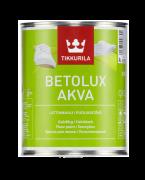 Водорастворимая краска для пола Tikkurila Betolux Aqua (Тиккурила Бетолюкс Аква) 0,9 литра бесцветный