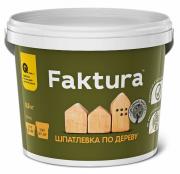 Шпатлевка акриловая по дереву Faktura / Фактура