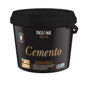 Cemento - штукатурка декоративная с эффектом художественного цемента TICIANA DELUXE (0,9 л)