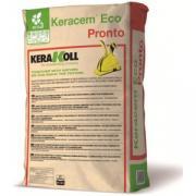 Стяжка Kerakoll Keracem Eco Pronto высокопрочная, эко-совместимая, быстросохнущяя, 30 кг Kerakoll Keracem Eco Pronto
