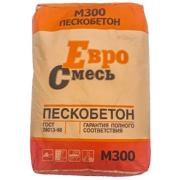 Смесь цементная МКУ Стандарт Пескобетон М-300 Евро Смесь 40 кг