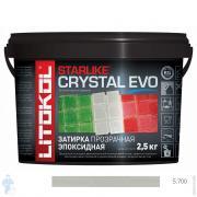 Затирка эпоксидная LITOCHROM COLOR CRYSTAL EVO S.700 Crystal для мозаики, прозрачная 2,5 кг