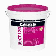Штукатурка силикатно-силиконовая Ceresit CT 174 камешковая 1,5 мм база 25 кг