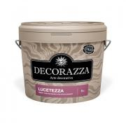 Декоративное покрытие DECORAZZA Lucetezza Alluminio LC-700 1л