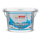 Штукатурка декоративная Bitex Siloxan Reibeputz 2 мм база 1 короед 25 кг