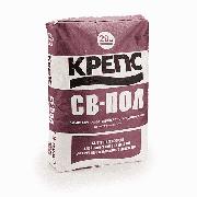 Самовыравнивающийся состав для пола Крепс СВ-Пол 20 кг