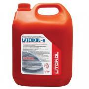 Добавка латексная к клею Litokol Latexkol-M, цвет белый, канистра 3,75 кг