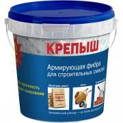Армирующая фибра для сухих строительных смесей, КРЕПЫШ, 500 гр.