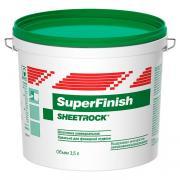 Шпатлевка универсальная Sheetrock SuperFinish 3,5 л