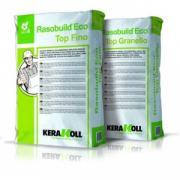 Шпатлёвка Kerakoll Rasobuild Eco Top Fino, минеральная финишная, эко-совместимая, цвет Белый, 25 кг