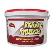 Шпатлевка для наружных и внутренних работ WHITE HOUSE 7,5 кг (Белый)