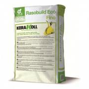 Шпатлёвка Kerakoll Rasobuild Eco Fino, минеральная финишная, цвет Серый, 25 кг