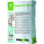 Штукатурка Kerakoll Sanabuild Eco для ремонта и осушивания сырых стен, паропроницаемая, силикатная, 25 кг Kerakoll Sanabuild Eco