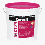 Штукатурка силиконовая Ceresit CT 74 камешковая 2,5 мм база 25 кг